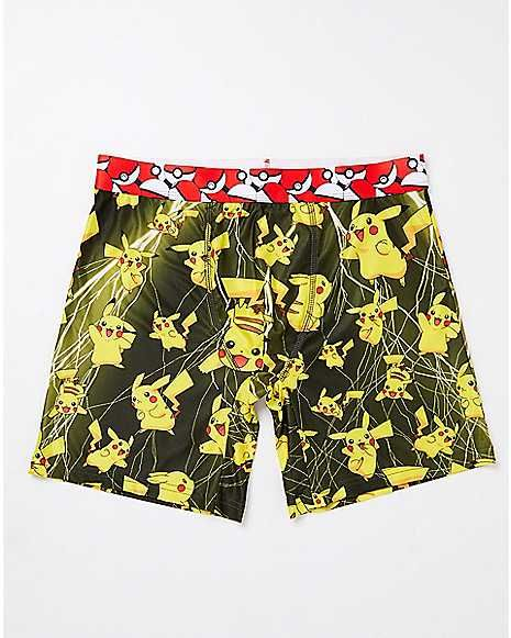2c052ec3c597 Lightning Storm Pikachu Boxer Briefs - Spencer's | Shopping | Boxer ...
