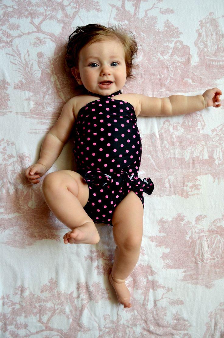 Polka dot bathing suit 3 - 5 2