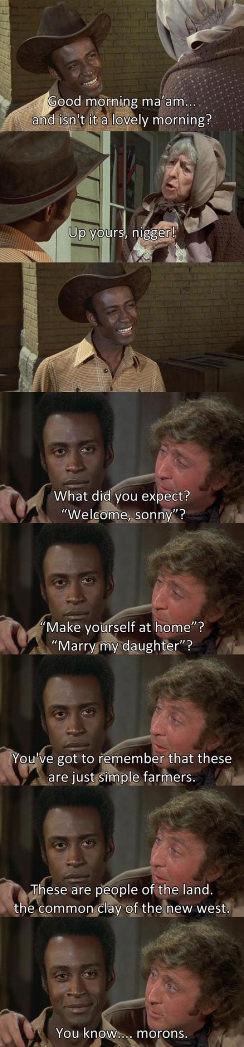 Oh, How Much I Love Blazing Saddles