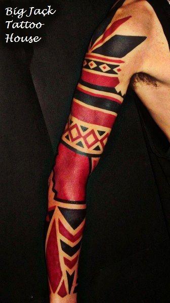 maori rosso-nero