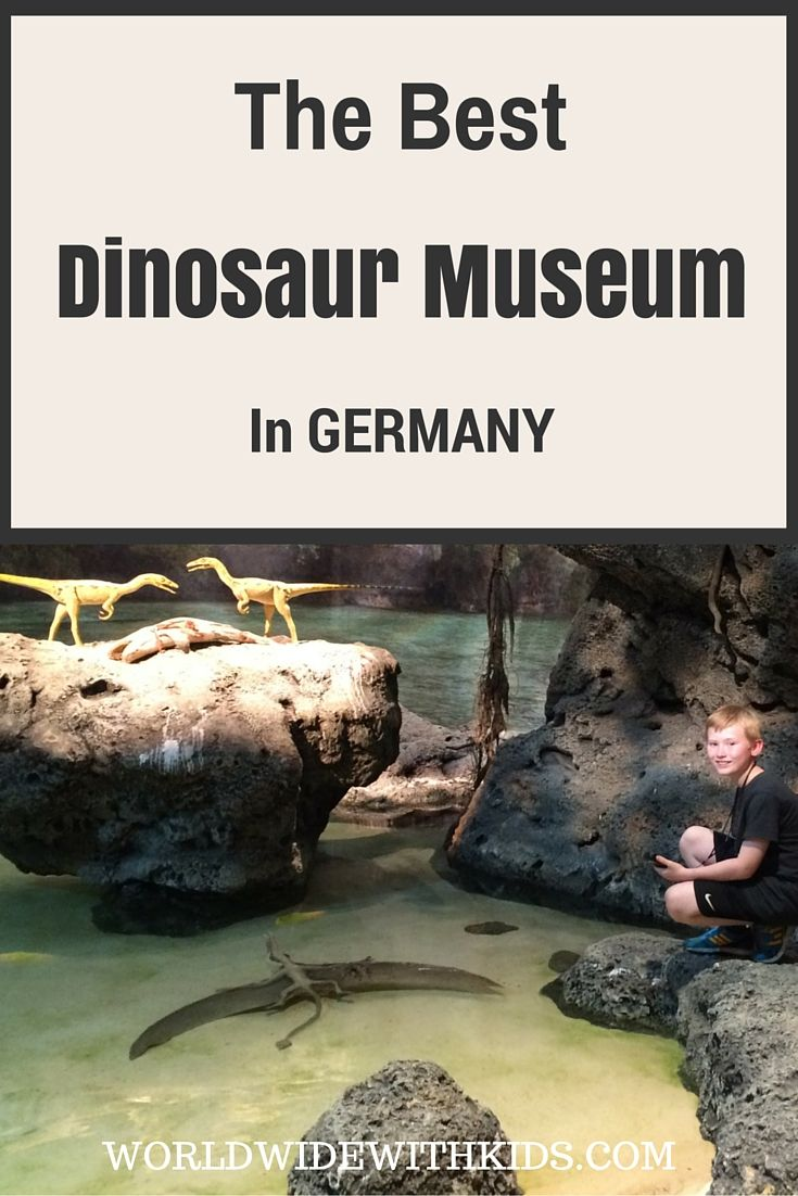 The BEST Dinosaur Museum in Germany. Fun Family Days Out.