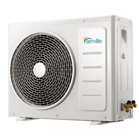 Senville Aura 28000 Btu Tri Zone 9000 Btu X3 Energy Star Air Conditioner With Heat Pump Ductless Mini Split Heat Pump Ductless