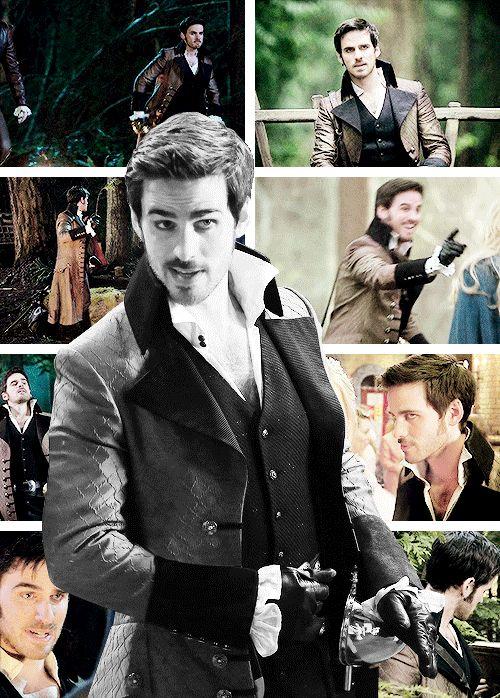 Killian Jones aka Captain Hook aka Prince Charles