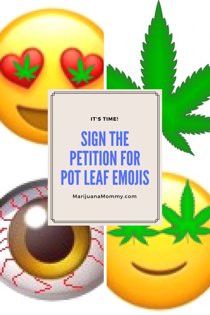 It's time for a cannabis leaf emoji. I started a petition for a pot leaf emoji on Change.org. I hope you'll sign it.  Unicode currently offers EIGHT different emojis to represent alcohol consumption. There's also a half-smoked cigarette emoji. There are emojis to represent the gambling industry and even one of a bomb. There are emojis for pills and syringes. It's time for a cannabis-leaf emoji! Click Here To Sign The Petition! My Instagram is hungry for a simpl...