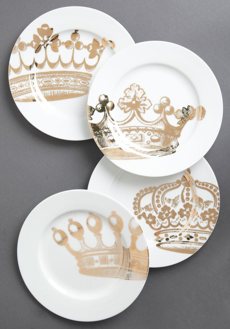 pretty crown plates & 171 best Pretty Plates images on Pinterest | Dish sets Dishes and ...