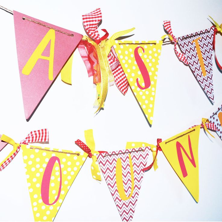 Personalized Banner For Any Occasion - Graduation Party - School Spirit - College Bound - Homecoming - Birthday Party by SUeITABLEFORYOU on Etsy https://www.etsy.com/listing/532733172/personalized-banner-for-any-occasion