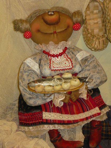 Коллекционные куклы ручной работы. Ярмарка Мастеров - ручная работа Силедачка-а-а...с картошичкай!.... Handmade.