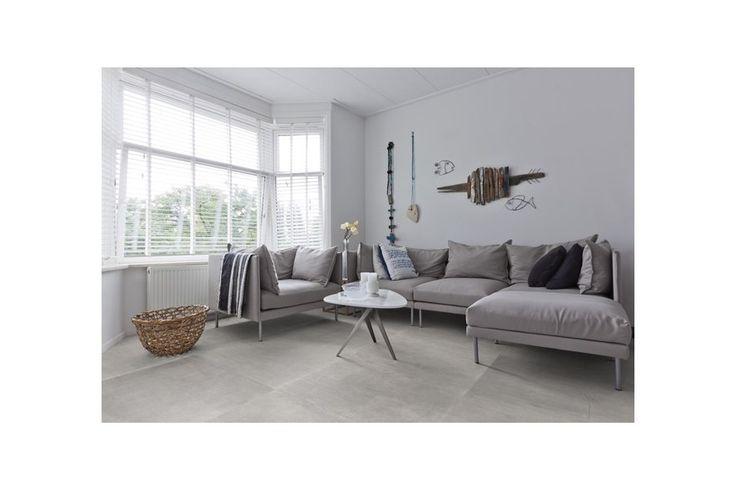 betonlook,keramische tegel, woonkamer, gietvloer, beton, onderhoud, modern