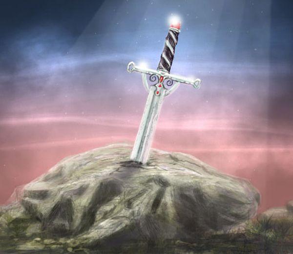 Excalibur è la prima arma a riconoscimento digitale dell'immaginario collettivo. Anche il martello di Thor, a pensarci bene. Tutta roba che risponde solo al tocco del padrone come un cane fedele … http://piergiuseppecavalli.com/io-non-sono-un-numero/#more-752