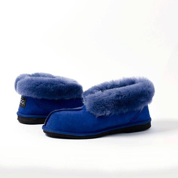 Ocean Blue UGG Slippers #ocean #blue #papaya #sheepskin #ugg #boots #slippers #uggboots #australia #aussie #australian