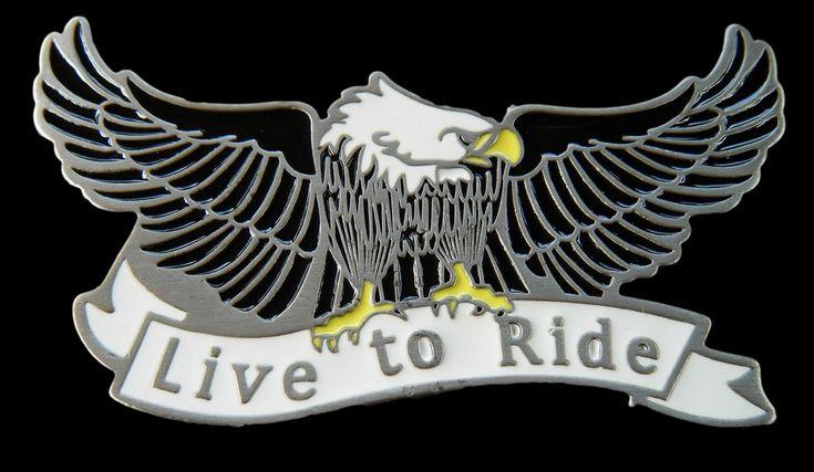 Live To Ride Bald Flying Eagle Belt Buckle Buckles #eagle #eagles #eaglebuckle #eaglebeltbuckle #flyingeagle #baldeagle #americaneagle #beltbuckles #coolbuckles #buckle #livetoride #ridetolive