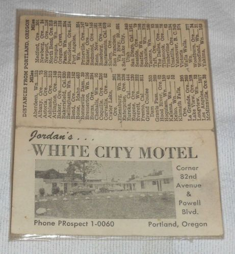 Jordans-White-City-Motel-Portland-Oregon-4-5-x-3-75-Souvenir-Card-Vintage
