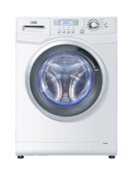 Πλυντήριο Ρούχων HAIER 9 kg. Μέγιστο Βάρος στεγνών ρούχων: 9 kg Στροφές/ λεπτό: 1400 Βάρος (Kg) 78 kg Διαστάσεις (Y*Π*Β εκ.): 85*60*64 Χρώμα: Λευκό. #HaierGR
