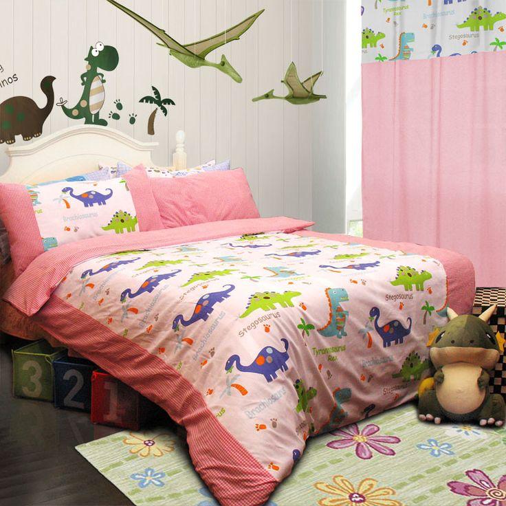 133 best Dinosaur Bedding images on Pinterest Dinosaur bedding - dinosaur bedroom ideas