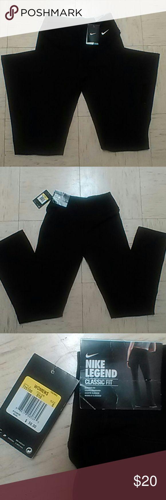 NWT Nike Yoga style pants Women's small Classic fit Dri-Fit Stretchy Nike Pants Track Pants & Joggers