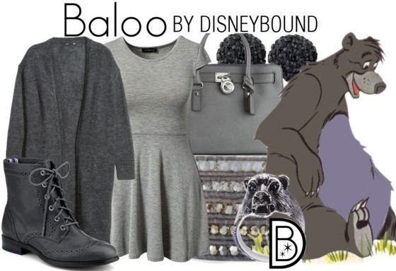 Disney Bound: Baloo from Disney's Jungle Book