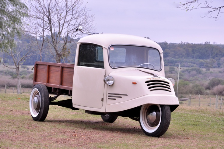 TRICICLO BORGWARD GOLIATH (GERMANY) AÑO 1951 for sale.