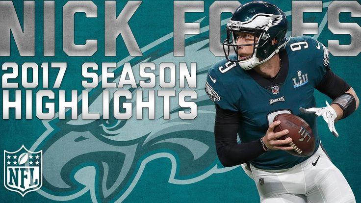 Nick Foles' 2017 Highlights: From Philadelphia Eagles Backup to Super Bowl MVP | NFL Highlights