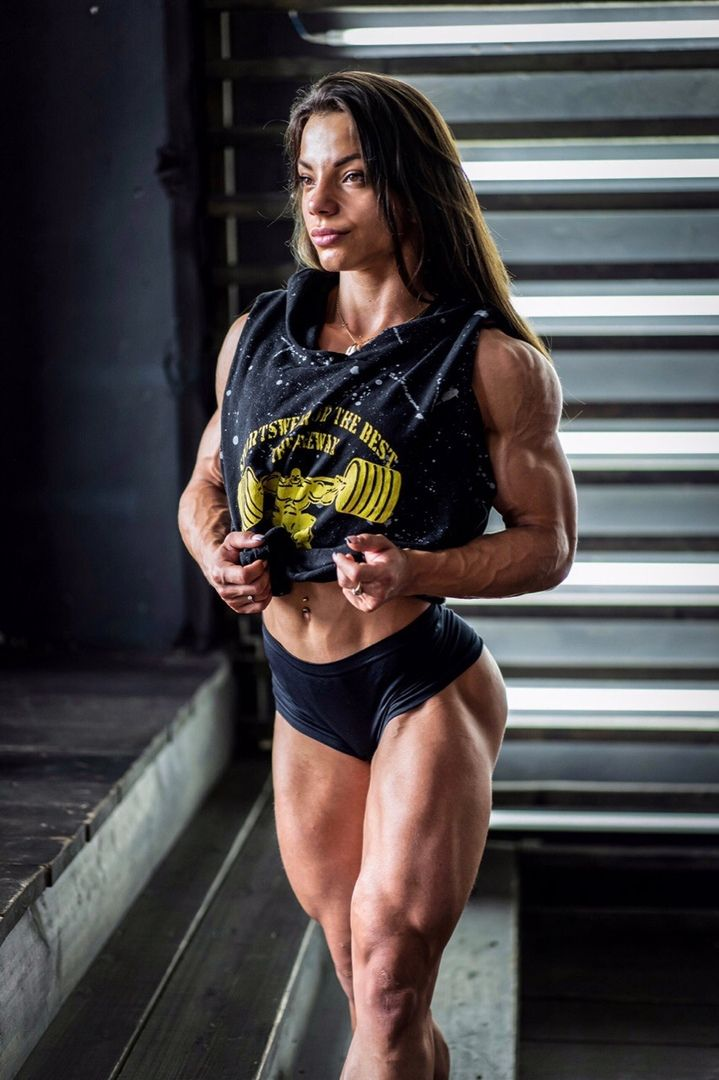 Anastasia Leonova Muscle Girls Muscle Women Body Building Women