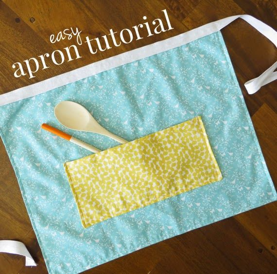 How to Make an Easy Apron with Fat Quarters: A Free Apron Pattern & Tutorial ~ Creative Green Living