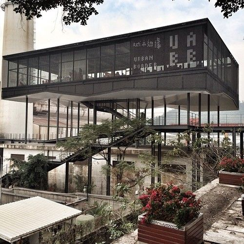 The floating pavilion of the Shenzhen Biennale #ar…