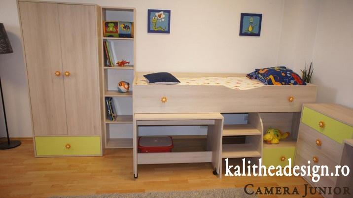 Mobila pentru copii - camera Junior