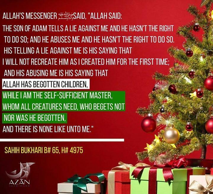 Islam Christmas.Notochristmas Husband Wife Marriage Muslim Islam
