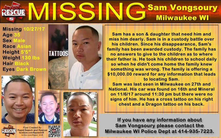 Find Missing Sam Vongsoury!