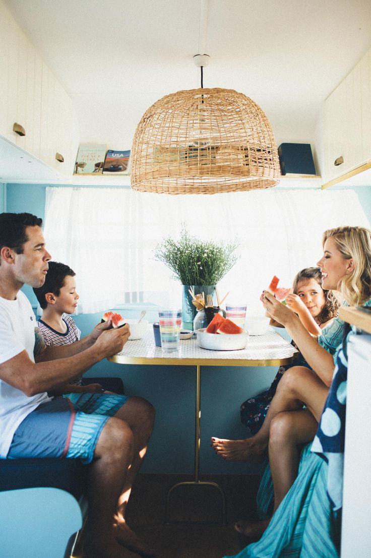 Caravan renovation: The Block's Michael & Carlene unveil their home on wheels. Photography by Carly Brown. Styling by Michael & Carlene Duffy.