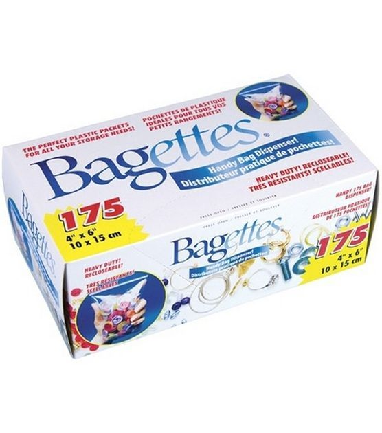 Bagettes 4''x6'' Heavy Duty Reclosable Bags-175PK