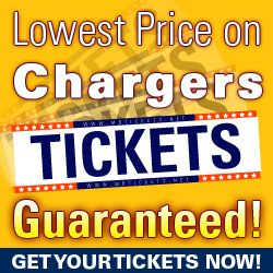 Chargers Tickets-Lowest Price Guaranteed!