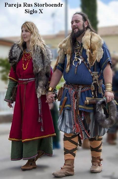 Jarl Angus Tjuren Færigölasson con Húsfreyja Marþa Skógsdóttir.