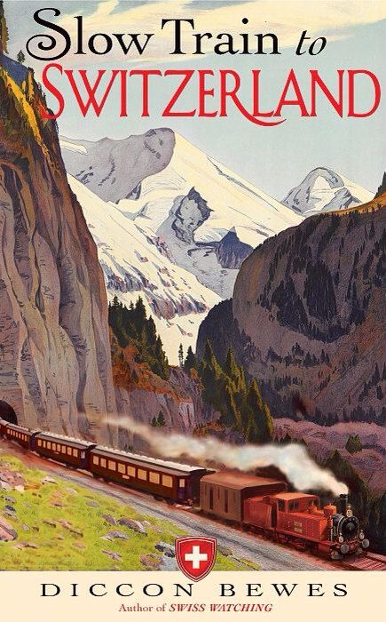 Vintage Slow Train Swiss Switzerland Travel Poster Giclee Art Print                                                                                                                                                      More