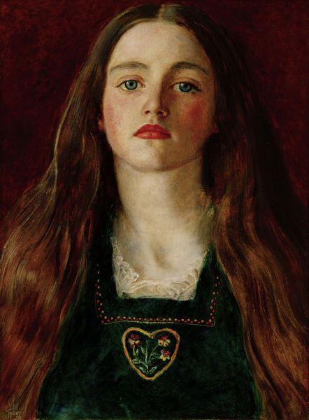 Sophie Gray (1857) by Sir John Everett Millais
