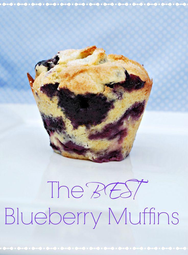 The Best Blueberry Muffins       1/2 c. butter     2 c flour     1 c sugar     2 eggs room temp     1 tsp. vanilla     1/2 c. milk     2 tsp. baking powder     1/2 tsp salt     2 1/2 c blueberries     2 tsp. sugar