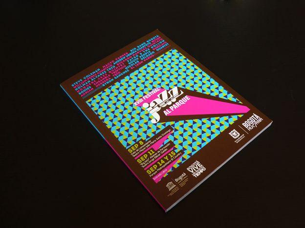 Catálogo XVIII Festival Jazz al Parque Concepto, diseño editorial, diagramación, ilustración, retoque fotográfico y desarrollo. Trabajo realizado para el Instituto Distrital de las Artes IDARTES. Bogotá, 2013.    Catálogo completo: http://issuu.com/idartes/docs/catalogo_jazz_al_parque_2013 #editorial #typography #design #graphicdesign #jazz #music