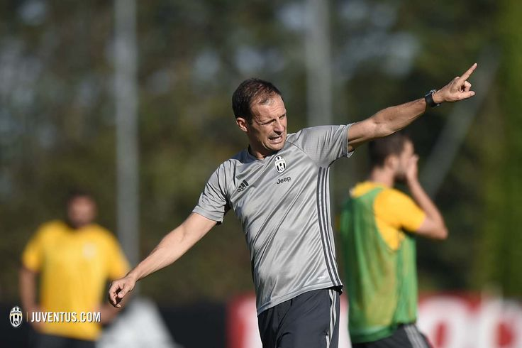 """Massimiliano Allegri outlines his objectives for the new season: """"We're aiming towards a sixth successive Scudetto and to go all the way in the Champions League"""""""
