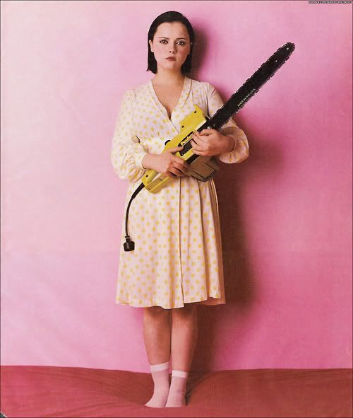 Christina Ricci circa the 1990s. I remember seeing this in SPIN when the issue came out.