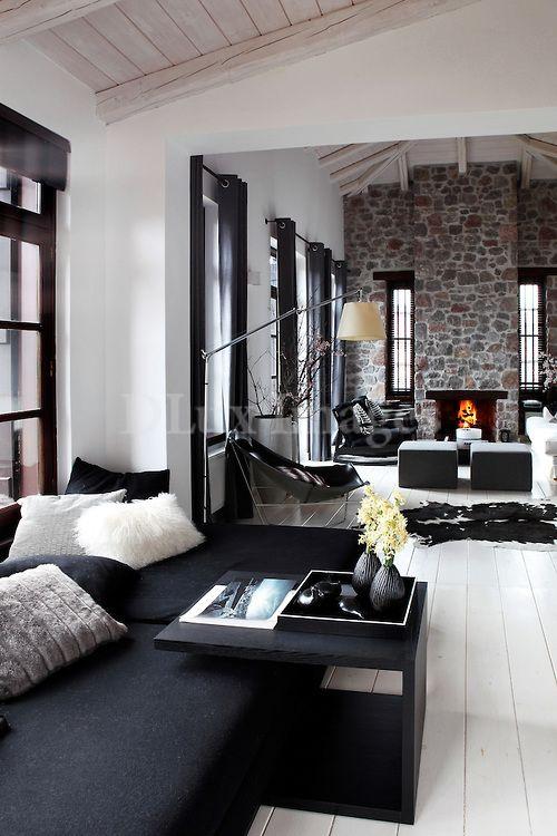 contemporary elegant living room