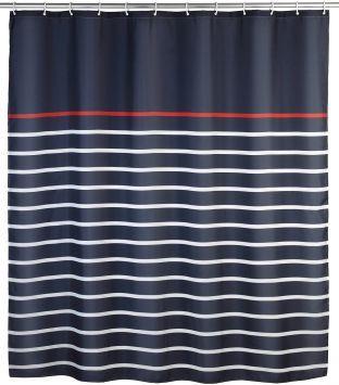 Wenko Duschvorhang »Marine Blue«, blau, blau