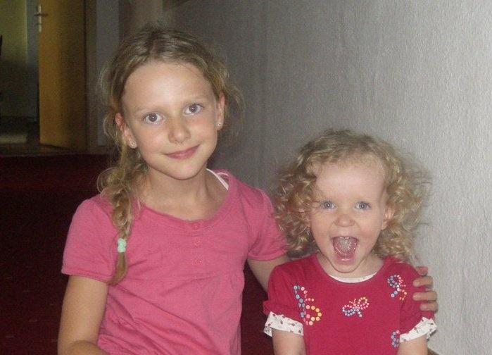 Two sweet girls