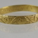 "Seventeenth Century Posey ring C.1680 engraved inside ""live to love eternally""  I love Posey rings"