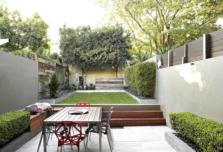 Small rooftop & courtyard gardens to large waterfronts. Nicholas Bray Landscapes selection and use of stonemasonry, paving, steel, water, timber and sculpture elements ensure innovative garden design.