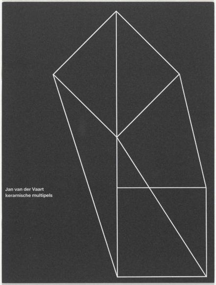 Jan van der Vaart Keramische Multiples, Wim Crouwel, Daphne Duijvelshoff, Total Design.