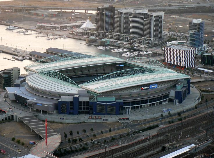 Docklands Stadium - Simple English Wikipedia, the free encyclopedia