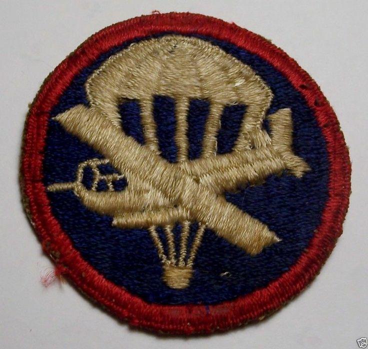 Original Cut Edge Ww2 Airborne Paraglider Infantry Em Cap