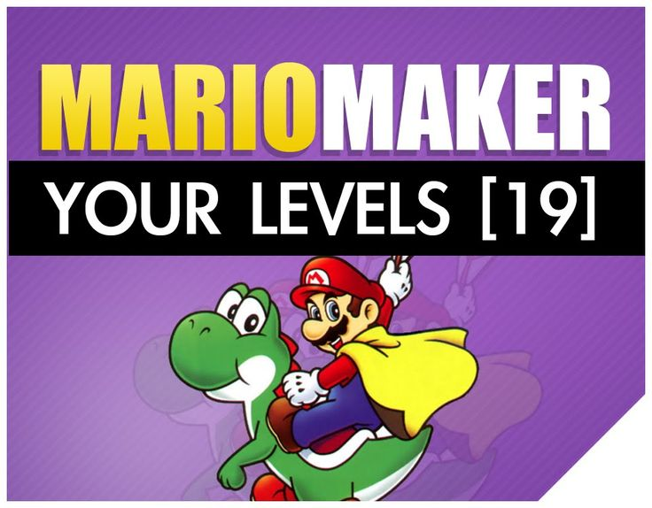 Let's play Super Mario Bros Nintendo Super Mario Maker hardest levels from you all. In this series I will be playing all the levels you submit, rather some of those super mario levels are hard, extreme, expert or easy. All you have to do is make sure you follow the rules listed below and submit your super mario maker level and after that, we game buddy. https://www.youtube.com/watch?v=I8gw6AVQqP0