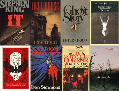 The 50 Scariest Books of All Time, lots of great books on this list, plus ones I've never heard of, must check these out!