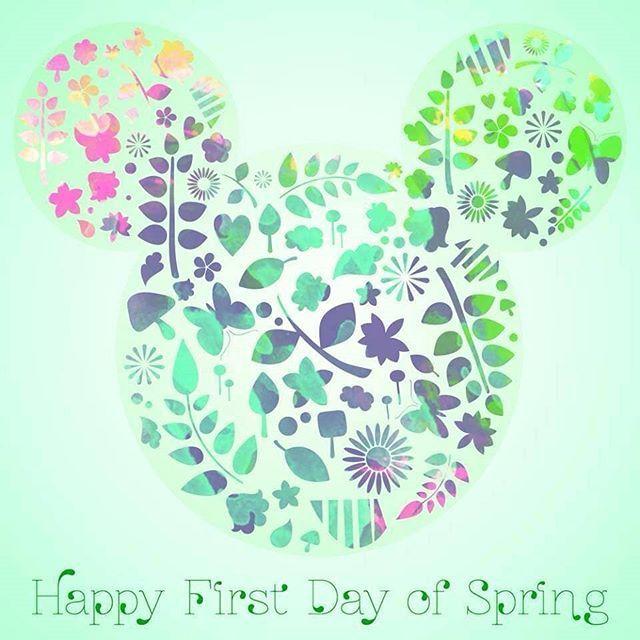 Happy First Day of Spring! #firstdayofspring #disney #disneyworld #disneyland