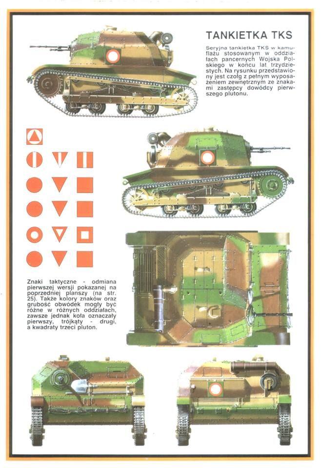 Polish TKS tankette